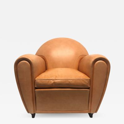 Poltrona Frau Poltrona Frau Leather Lounge Chair
