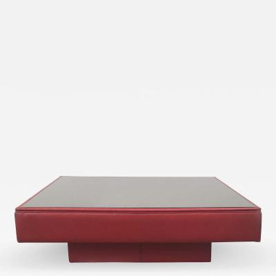 Poltrona Frau Poltrona Frau Vintage Leather Coffee Table