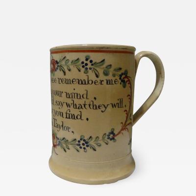 Polychrome Soft Paste Mug