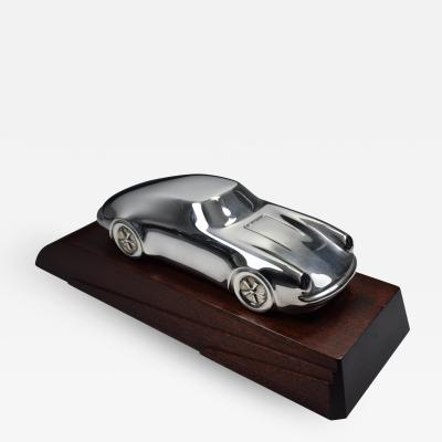 Porsche Sterling Silver Sculpture Desk Model