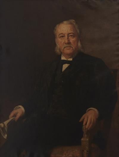 Portrait Of Dewitt Clinton Blair Oil on Canvas by Jennie S Loop