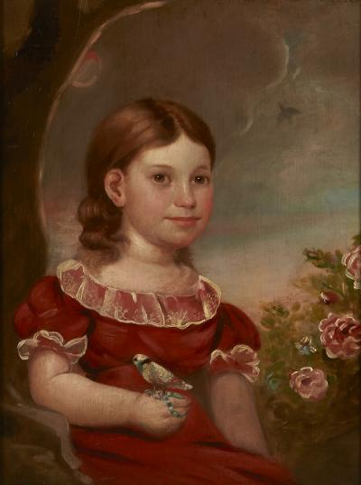 Portrait of Caroline Pease Enfield Connecticut