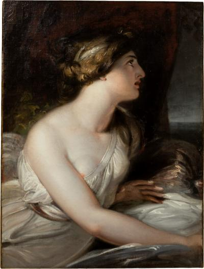 Portrait of Emma Lady Hamilton as Ariadne Richard Westall RA 1765 1836