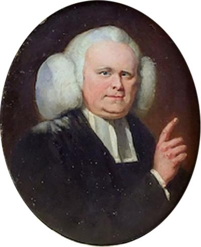 Portrait of Reverend George Whitefield 1714 1770