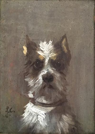Portrait of a Dog 19th Century