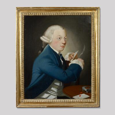 Portrait of a Gentleman Writing a Letter