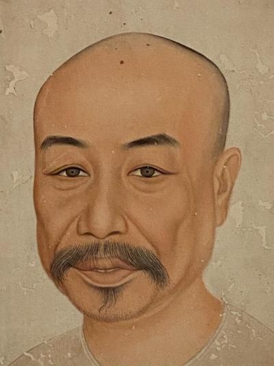 Portrait of a Merchant China 19th Century