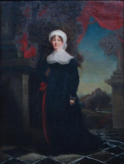 Portrait of a Regency Lady