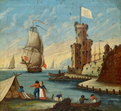 Portugese Maritime Painting