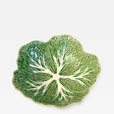 Portuguese Cabbage Leaf Motif Bowl