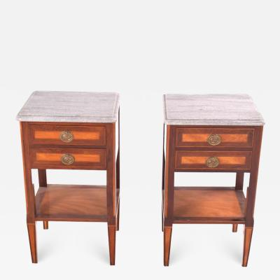 Portuguese Pair of Bedside Tables D Maria Style