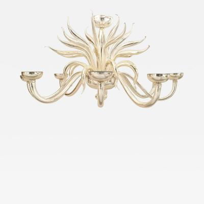 Post War Design Italian Venetian Murano Chandelier