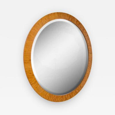 PostModern Prima Vera Inlay Mirror by Charles Pfister for Baker Furniture Co