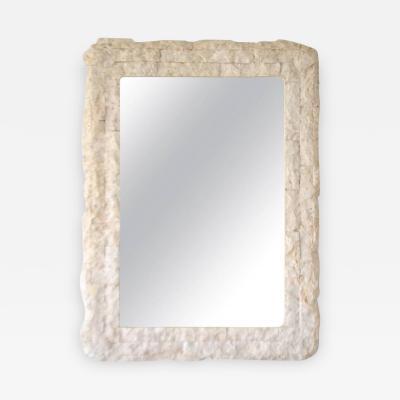 Postmodern Tessellated Wall Mirror