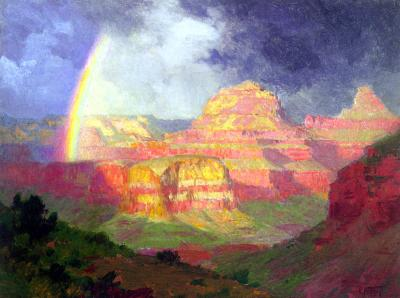 Edward Henry Potthast The Grand Canyon