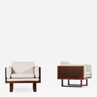 Poul Cadovius Easy Chairs Produced by France Son