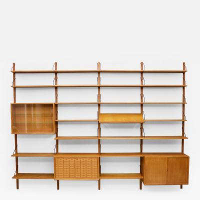 Poul Cadovius Large Poul Cadovius Teak Wood Shelf System Denmark 1960s II