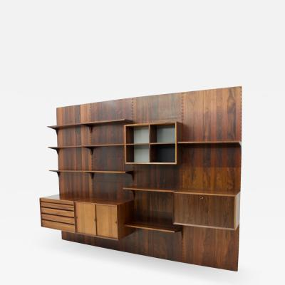 Poul Cadovius Poul Cadovius Rosewood Shelving System Denmark 1958
