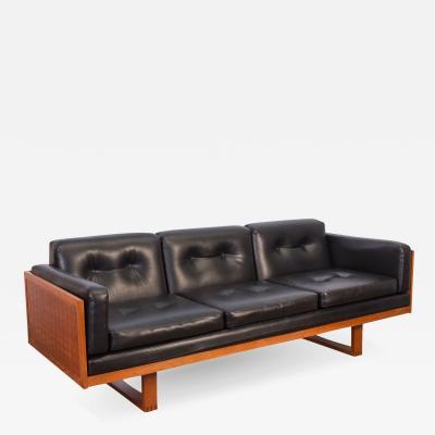 Poul Cadovius Poul Cadovius Woven Black Sofa