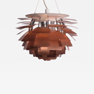 Poul Henningsen 28 Copper Artichoke Lamp by Poul Henningsen