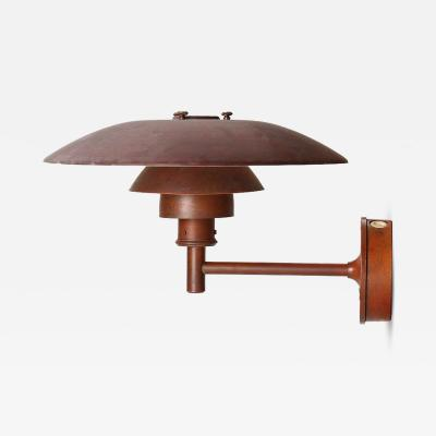 Poul Henningsen Copper Wall Sconce by Poul Henningsen