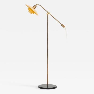 Poul Henningsen Floor Lamp Model PH 2 2 Water Pump Produced by Louis Poulsen