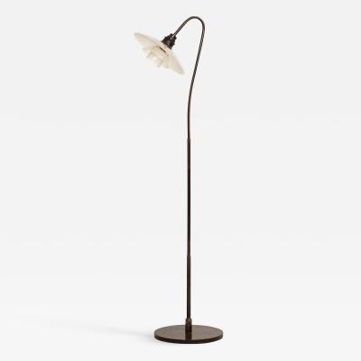 Poul Henningsen Floor Lamp Model Syvtallet 7 Produced by Louis Poulsen