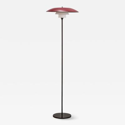 Poul Henningsen Floor Lamp PH 4 3 by Poul Henningsen