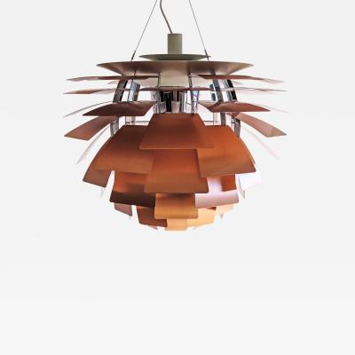 Poul Henningsen Large PH Artichoke Copper Lamp by Poul Henningsen