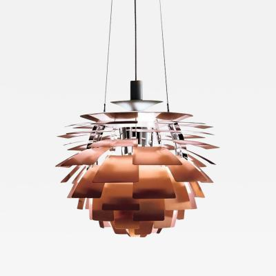 Poul Henningsen Monumental Poul Henningsen Copper PH Artichoke Chandelier for Louis Poulsen
