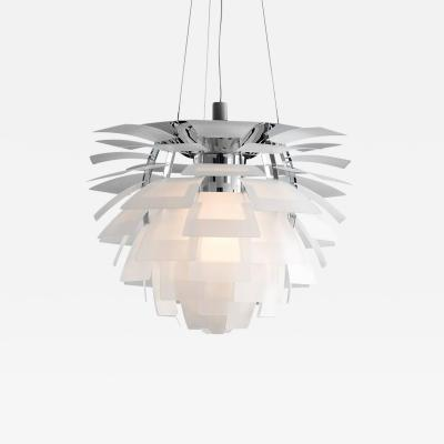 Poul Henningsen Monumental Poul Henningsen PH Glass Artichoke Chandelier for Louis Poulsen