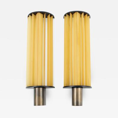 Poul Henningsen POUL HENNINGSEN PAIR OF LANGLYSLAMPE WALL LAMPS