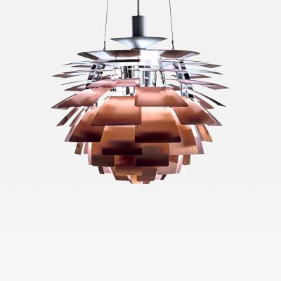 Poul Henningsen Poul Henningsen Copper Artichoke Light for Louis Poulsen