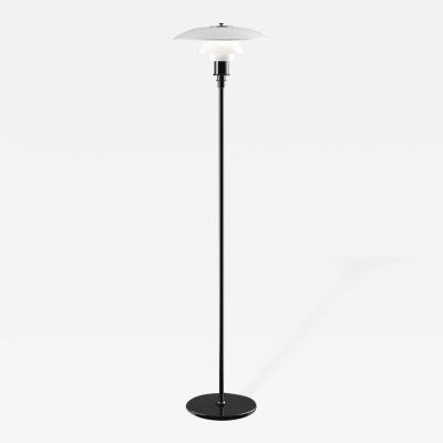 Poul Henningsen Poul Henningsen Opaline Glass PH 3 2 Floor Lamp for Louis Poulsen