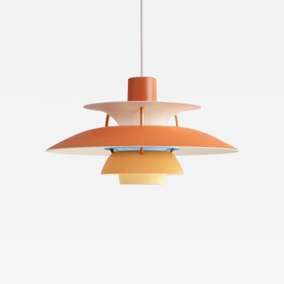 Poul Henningsen Poul Henningsen Orange PH5 Mini Pendants for Louis Poulsen