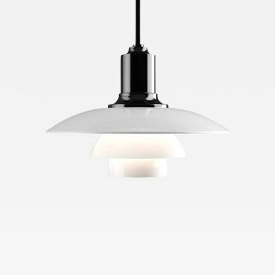Poul Henningsen Poul Henningsen PH 2 1 Opaline Glass Pendant for Louis Poulsen