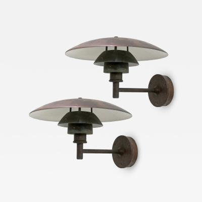 Poul Henningsen Poul Henningsen PH 4 3 Wall Lights