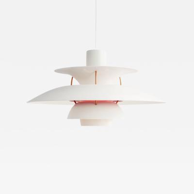 Poul Henningsen Poul Henningsen PH 5 Pendant for Louis Poulsen in Modern White