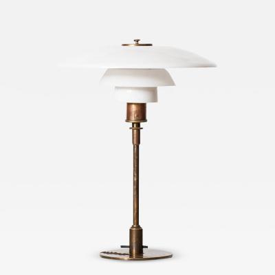 Poul Henningsen Poul Henningsen Table Lamp Model PH 4 3 Produced by Louis Poulsen in Denmark