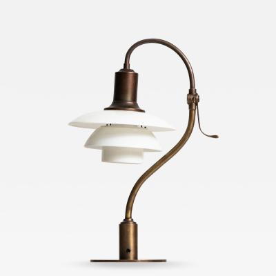 Poul Henningsen Table Lamp Model PH 2 2 The Question Mark Produced by Louis Poulsen