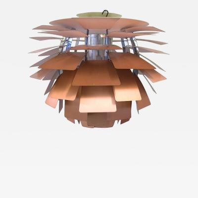 Poul Henningsen The Artichoke pendant lamp Top shade in white metal