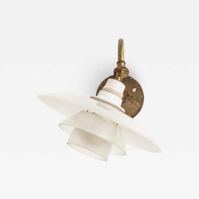 Poul Henningsen Wall Lamp Model PH 1 1 Produced by Louis Poulsen in Denmark