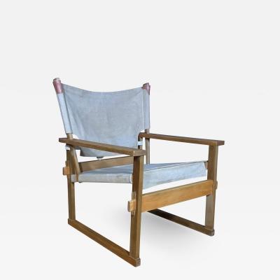 Poul Hundevad 1960s Kai Winding Safari Chair for Poul Hundevad Denmark