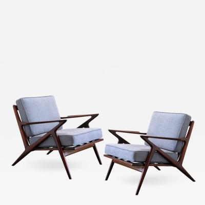 Poul Jensen Pair of Arm Chairs by Poul Jensen for Selig