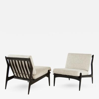 Poul Jensen Scandinavian Modern Lounge Chairs by Poul Jensen for Selig
