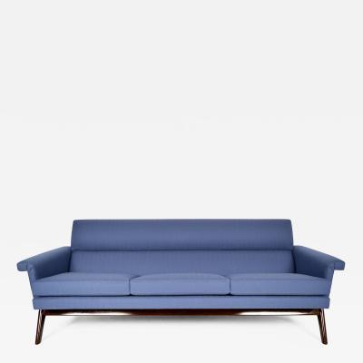 Poul Jensen Stylish Mid Century Modern Poul Jensen 3 Seat Sofa