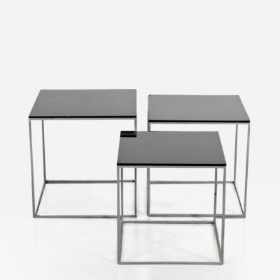 Poul Kj rholm 1960s Poul Kjaerholm PK71 Nesting Tables