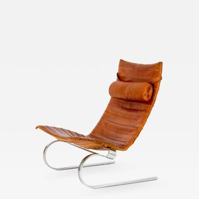 Poul Kj rholm Early Poul Kjaerholm PK20 easy chair Denmark 1960s