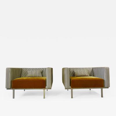 Poul Kj rholm Large Scale Unique Mid Century Lounge Chairs