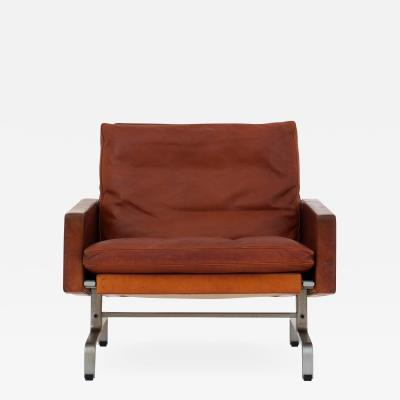 Poul Kj rholm PK 31 1 Easy chair in patinated leather